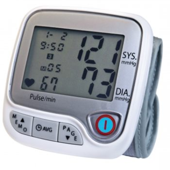ADVANCED WRIST BP MONITOR LUMISCOPE