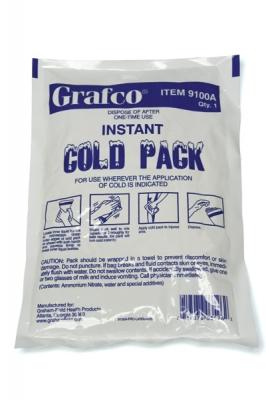 COLD PAK INSTANT 6″X8.5″ 24/CS GRAFCO