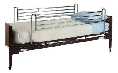 BED RAILS FULL TELE UNIV CHRM LUMEX