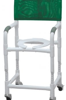 PVC Shower Chair/Commode