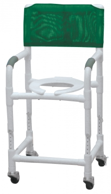 SHOWER CHR PVC CMD ADJ HT 3TW SEAT CLEARANCE 18″-23″