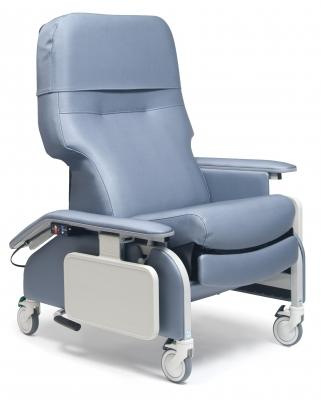 RECL DR ARM HEAT&MAS CHESTNUT CA-133, LUMEX