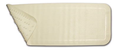 BATH MAT SURE-SAFE WHITE LUMEX