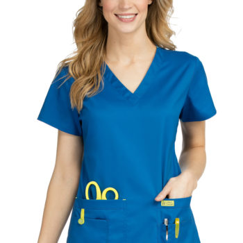 Women Med Couture Top