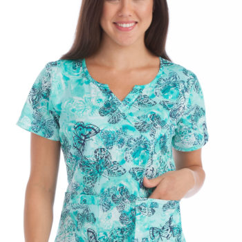 Women Med Couture Chrissy Top