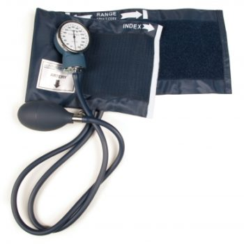 Aneroid Blood Pressure Monitor with Adjustable Gauge, Lumiscope