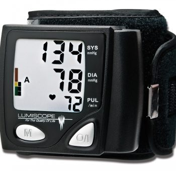 Automatic Wrist Blood Pressure Monitor, Lumiscope