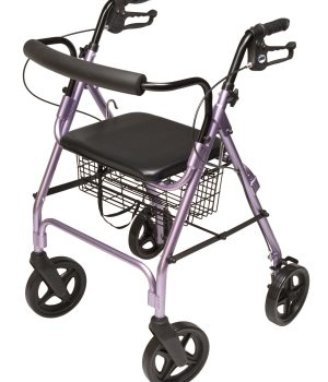 Walkabout Four-Wheel Contour Deluxe Rollator