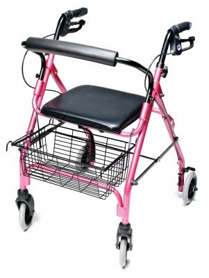 Walkabout Lite Four-Wheel Rollator