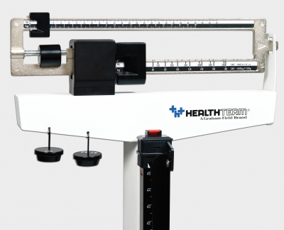 Physician Mechanical Beam Scale with Wheels