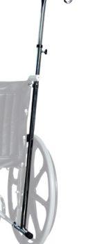 Wheelchair One-Hook I.V. Pole