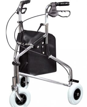 Sure-Gait II Three-Wheeled Steel Rollator