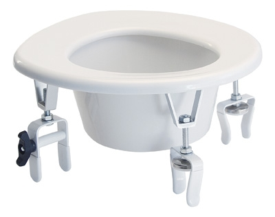 Versa Height Raised Toilet Seat