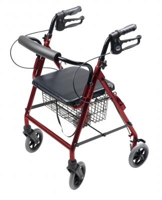 Walkabout Four-Wheel Hemi Rollator