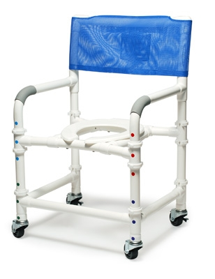 PVC Knockdown Shower Chair