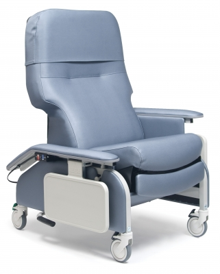 Lumex Deluxe Clinical Care Recliner with Drop Arms