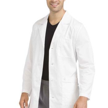 Men Med Couture Men's Twill Lab Coat
